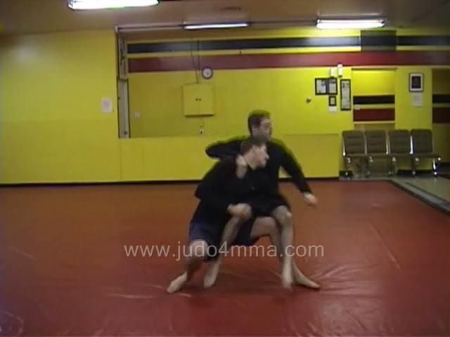Click for a video showing a Judo for MMA technique called Sukui Nage for MMA - Scooping Throw for MMA